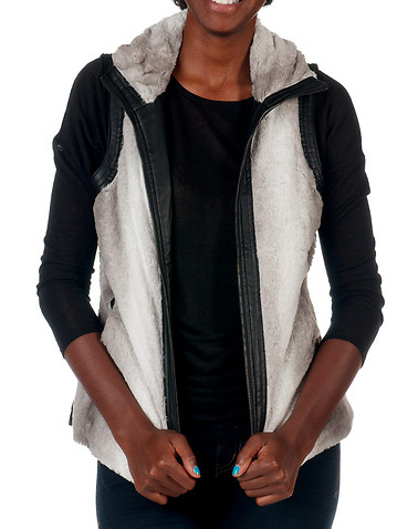 ESSENTIALS WOMENS Grey Clothing / Vests S 11203232