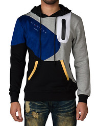 VIE RICHE COLOR BLOCK TECH PULLOVER HOOD