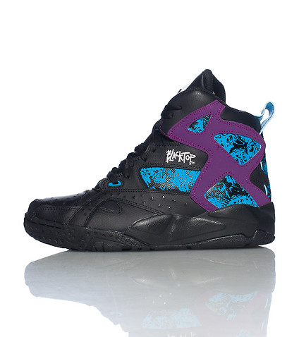 REEBOK KIDS BLACKTOP BATTLEGROUND SNEAKER Black