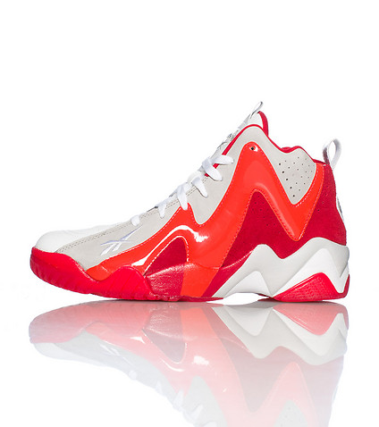 REEBOK MENS KAMIKAZE II MID GHOSTS OF CHRISTMAS PAST White