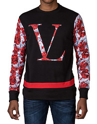 VAMPIRE LIFE ROSES CREW NECK FLEECE