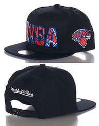 MITCHELL AND NESS NY KNICKS NBA SNAPBACK CAP