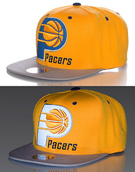 MITCHELL AND NESS INDIANA PACERS NBA SNAPBACK CAP