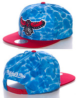 MITCHELL AND NESS ATLANTA HAWKS SURF SNAPBACK