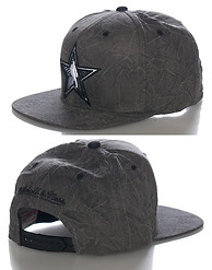 MITCHELL AND NESS NBA ALL STAR CREASED PRINT SNAPBACK CAP