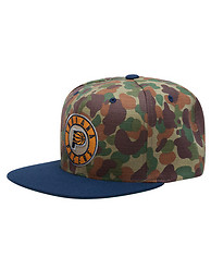 MITCHELL AND NESS INDIANA PACERS STRAPBACK CAP