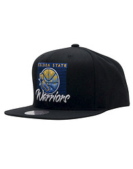 MITCHELL AND NESS Warriors Easy Three Snapback