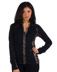 90 DEGREE SNAKE PRINT YOGA JACKET