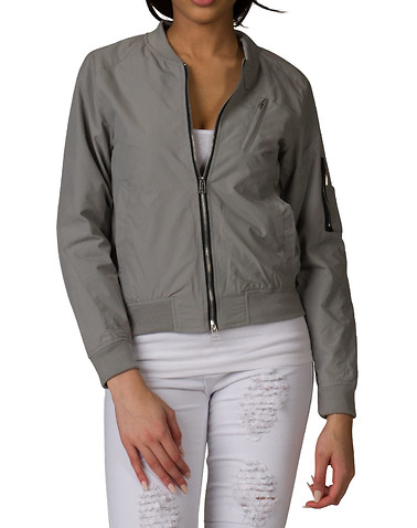 Essentials Womens Grey Clothing / Outerwear S 11323471